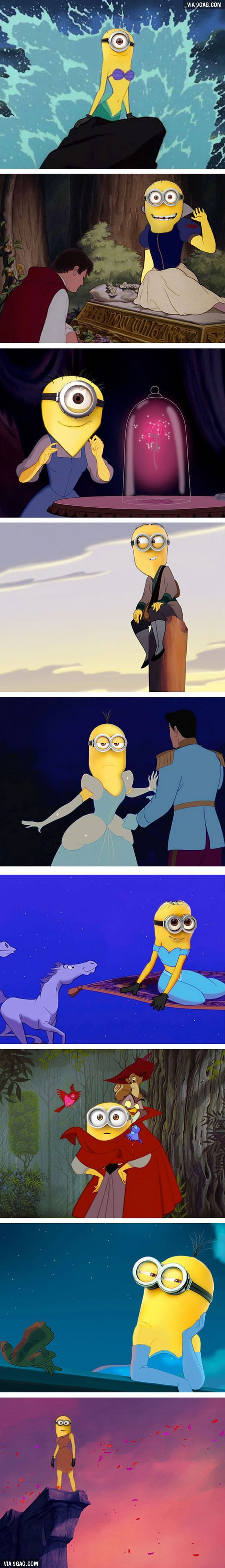 "What If Disney Princesses Were ""Minions""?"