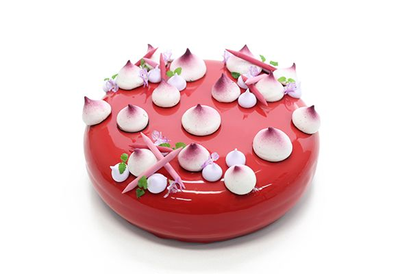 Cherry Baby Gateaux by Pastry Chef Kirsten Tibballs in Melbourne.