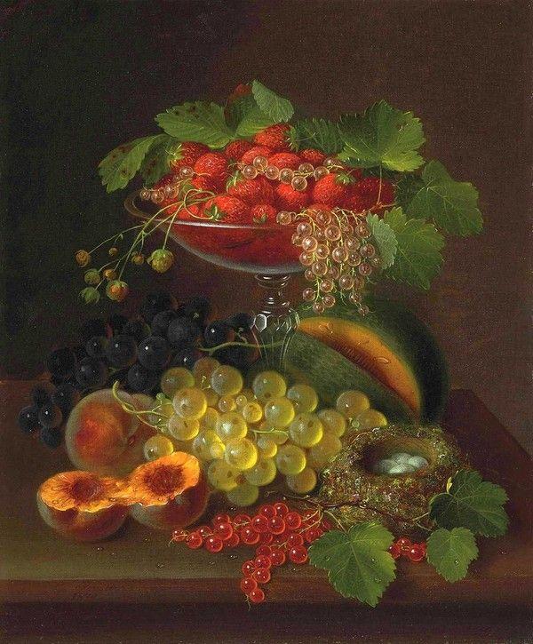 Peinture -Nature morte George E. Forster