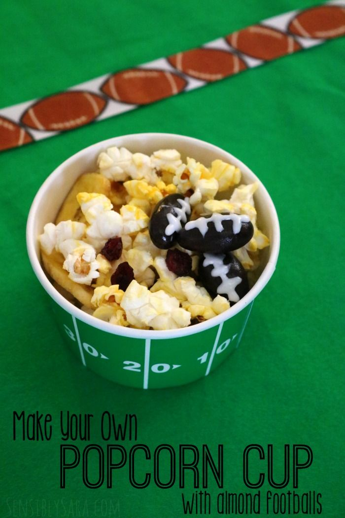 Make Your Own Popcorn Cup | SensiblySara.com