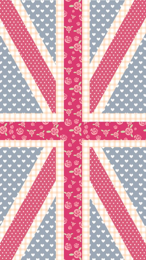 juliana learns to draw — pastel union jack for iphone 5. 640*1136 | via Tumblr