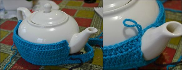 how to make your teacosy fit any sized teapot