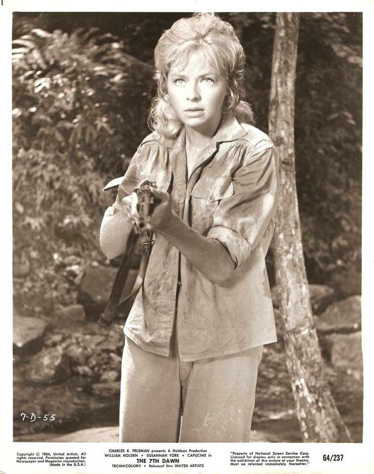 #Sixties | Susannah York in The 7th Dawn, 1964