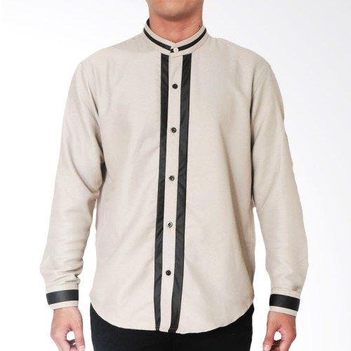 Marsketeer Arif Light Shirt Baju Koko – Brown