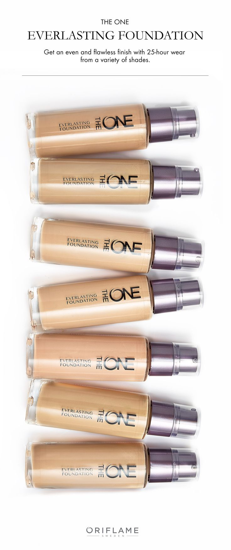So many shades, so little time! Our bestselling EverLasting Foundation is back in action with improved 25-hour wear to cover imperfections for a flawless finish, all with shades that easily match your skin tone. P.S. It's water and sweat-resistant, too!