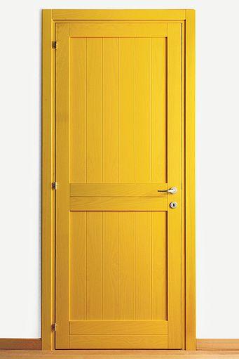 Желтые межкомнатные двери из Италии - продажа в интернет-магазине, помощь консультанта в выборе, доставка, монтаж