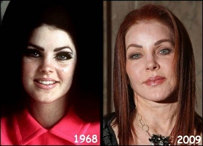 "was married to ""The King"" -  Priscilla Presley."