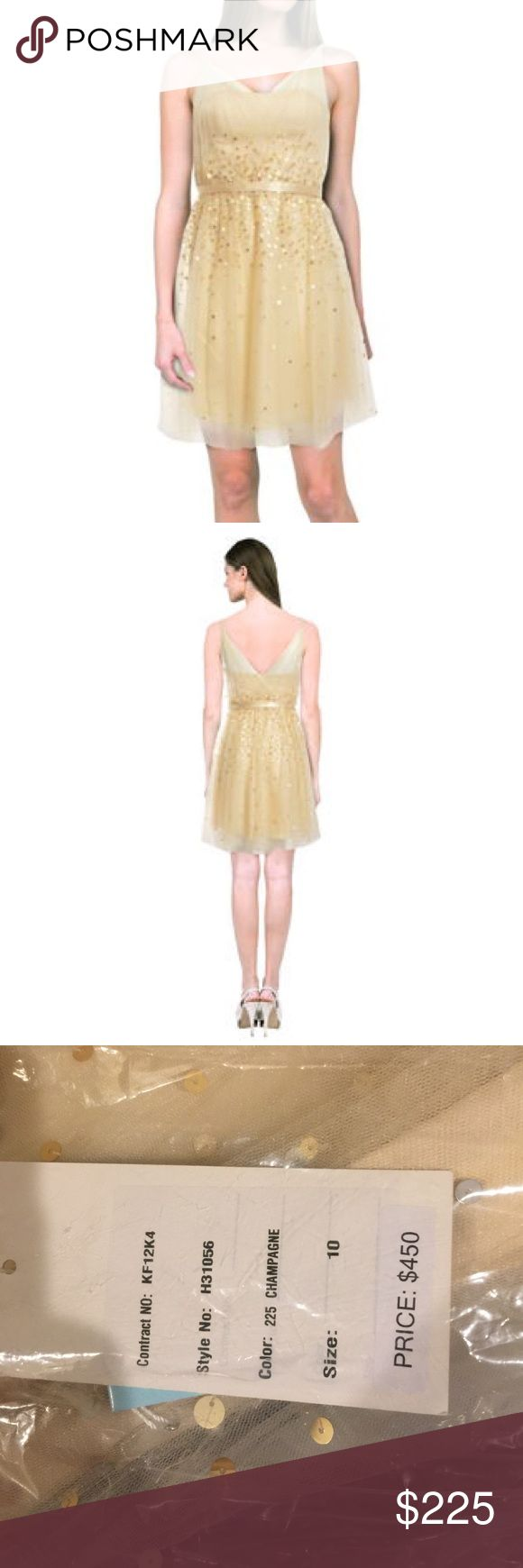Sleeveless Kathy Hilton Dress!!! Kathy Hilton Champagne style H31056. Size 10. New with Tags!!! Kathy Hilton Dresses