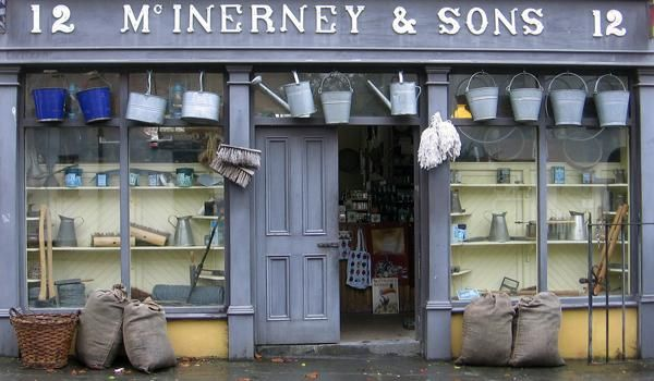Traditional Irish Shop