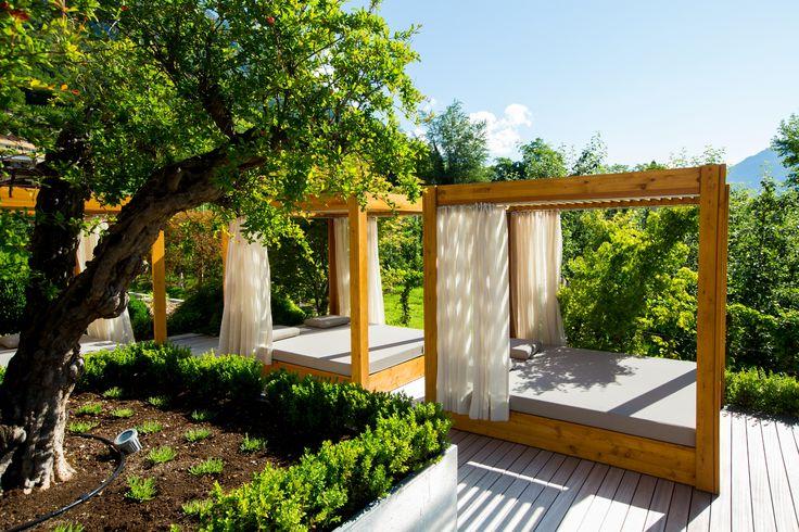 Relaxen im Feldhof-Garten