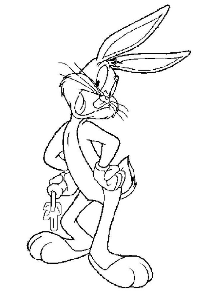 21++ Printable bugs bunny coloring pages information