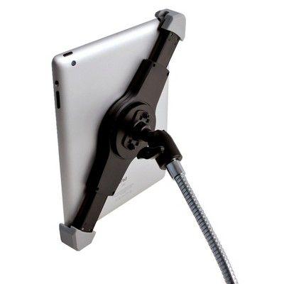 Cta iPad Paper Towel Holder With Gooseneck - Silver (Pad-Pth)