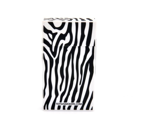 Cigarette Case Stripped Zebra Slim by toys4smokers on Etsy, zł19.99