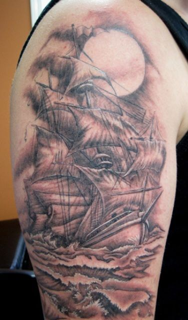 30 best pirate elbow tattoo images on pinterest elbow tattoos inner elbow tattoos and pirate. Black Bedroom Furniture Sets. Home Design Ideas