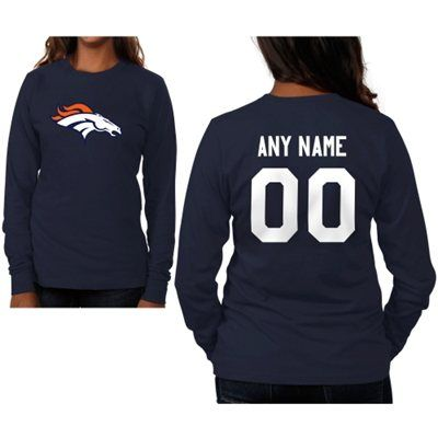 Denver Broncos Womens...Got mine customized with name and lucky number
