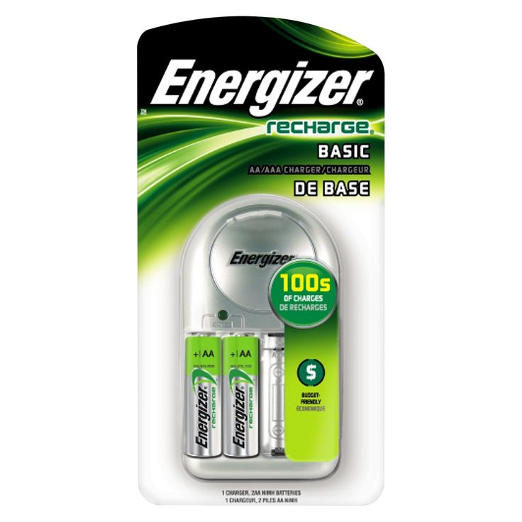 Energizer Basic AA/Aaa Battery Charger (CHVCWB2)