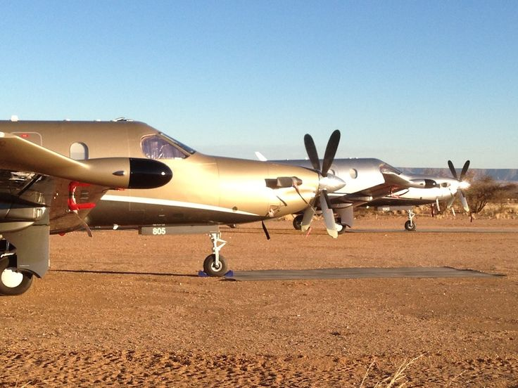 You can fly from Cape Town to Tutwa Desert Lodge in a privte aircraft charter...and feel like a movie star