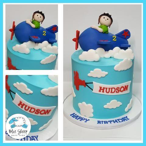 buttercream airplane cake nj