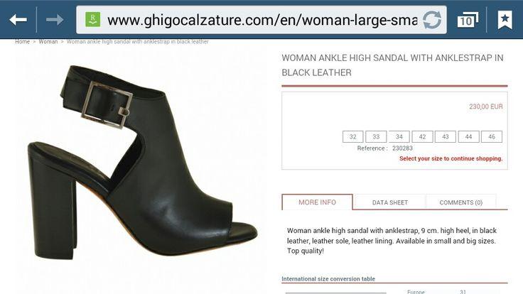 Grote en kleine maten dames schoenen,hoge hakken