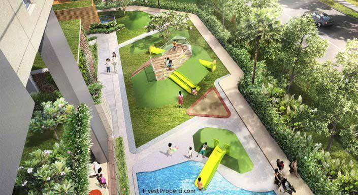 Wang Residence Apartemen Kids Pool