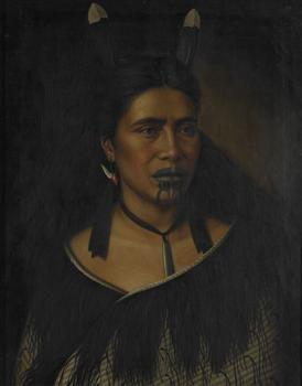 Mrs Mihiterina Takamoana, Napier NZ - Collections Online - Museum of New Zealand Te Papa Tongarewa