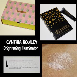 MichelaIsMyName: CYNTHIA ROWLEY Brightening Illuminator REVIEW