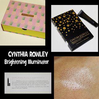 MichelaIsMyName: CYNTHIA ROWLEY Brightening Illuminator REVIEW