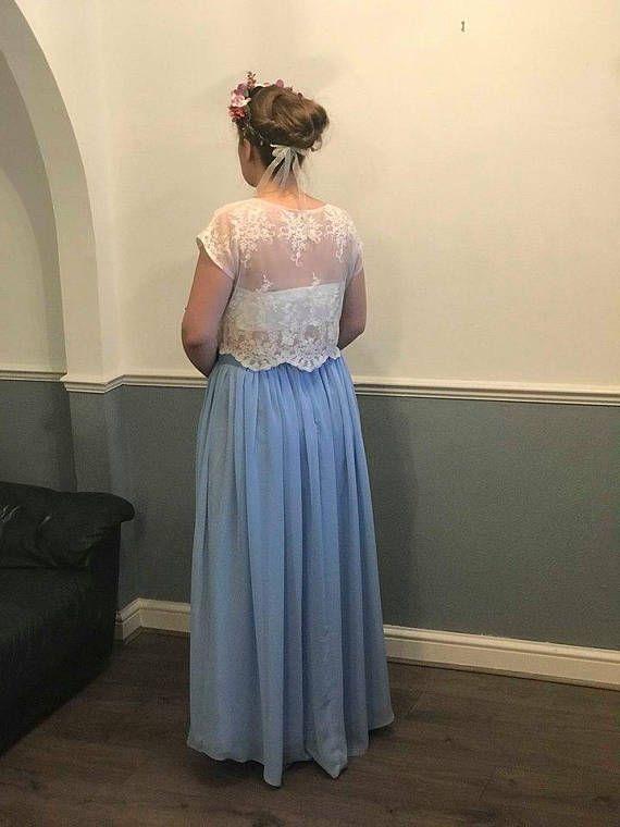 3849eacc2ae9e SOPHIA lace top bridal crop top eyelashes soft lace topper bridal ...