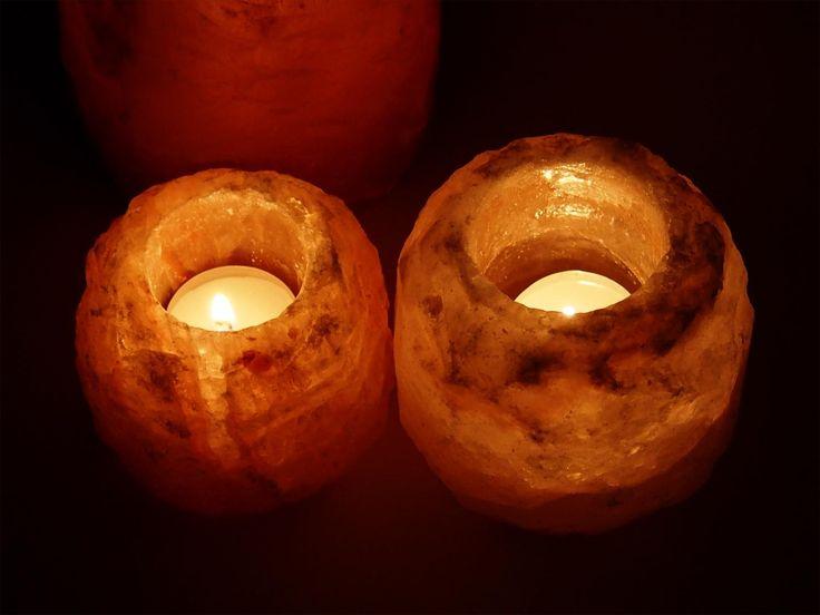 Solné lampičky se svíčkou