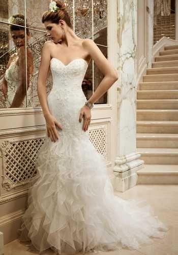 Casablanca Bridal Wedding Dresses - The Knot