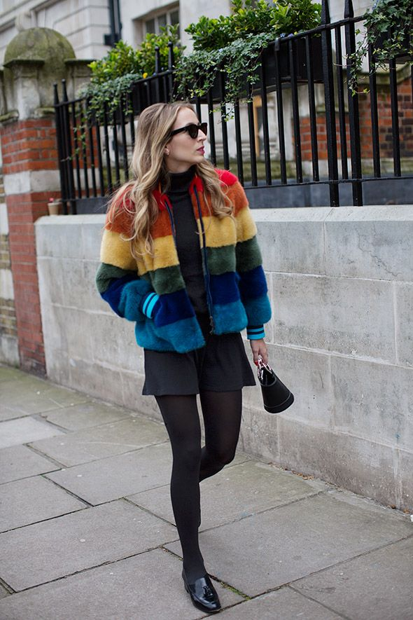 On the Street…Coats with Personality, London