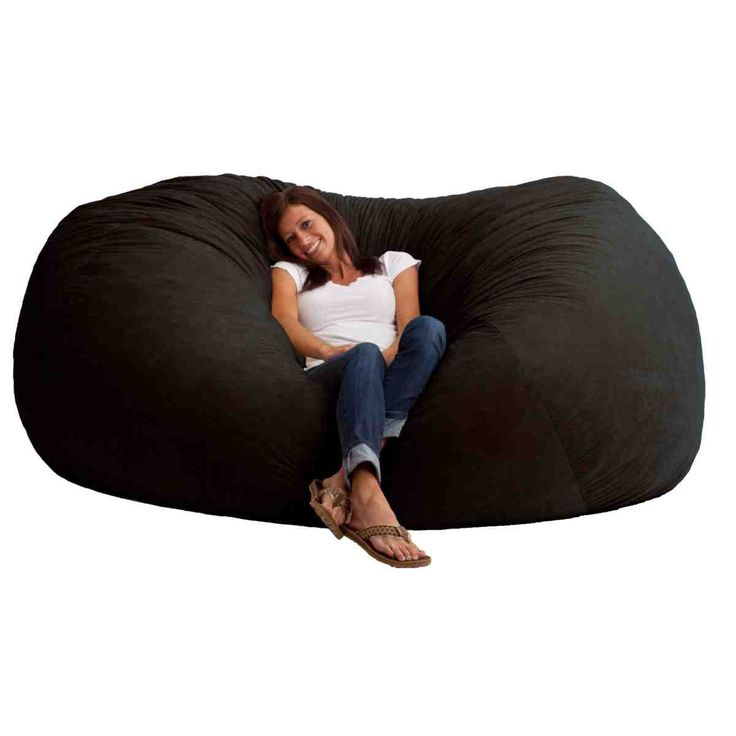 Giant Memory Foam Bean Bag Chair Vibrant Red 7 Foot XXL Microfiber Suede  Material Game Room Dorm Room Cozy And Comfortable Rest And Relax Part 54