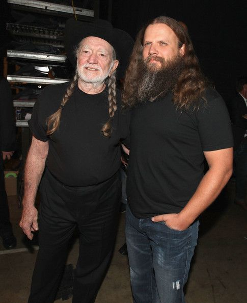 Willie Nelson Photos Photos - Musician Willie Nelson (L) attends 2012 CMT Music Awards backstage at Bridgestone Arena on June 6, 2012 in Nashville, Tennessee. - 2012 CMT Music Awards - Audience And Backstage