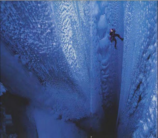 Glacial MoulinQuiero Viajar, Glacial Moulin