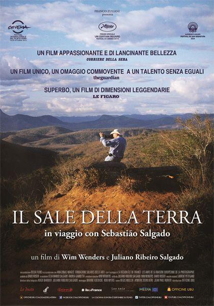 Il Sale della Terra - Italia, France, Brasil 2014, directed by Wim Wenders and Juliano Ribeiro Salgado.