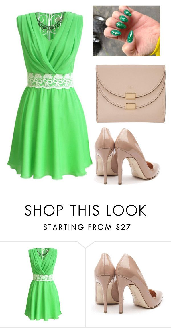 """""""Untitled #621"""" by vane-25 ❤ liked on Polyvore featuring beauty, Rupert Sanderson and Chloé"""