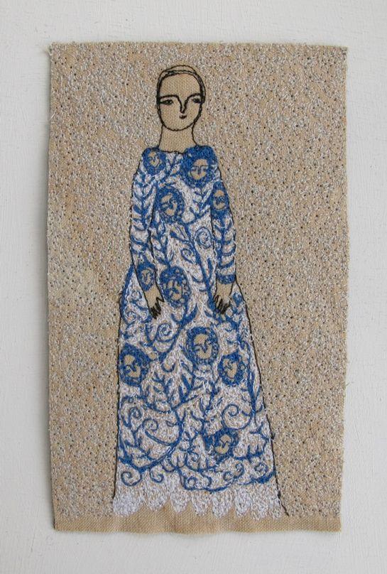 A artista inglesa Cathy Cullis pinta, borda, esculpe e ainda escreve poemas. E ela faz tudo isso com muita delicadeza e bom gosto. Das suas várias expressões artísticas, os bordados foram os que ma…