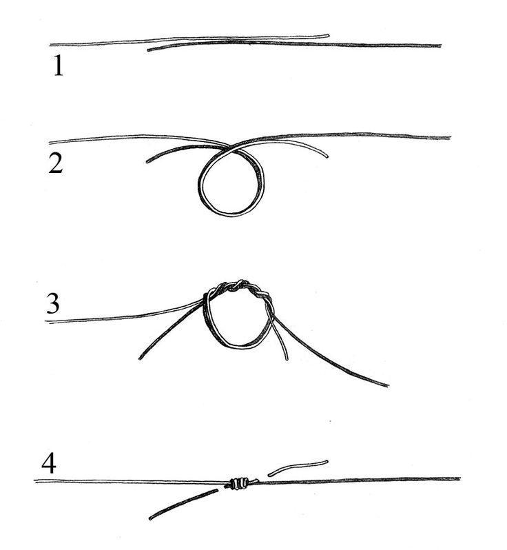 Best 25 easy fishing knots ideas on pinterest fishing for Fishing line knots