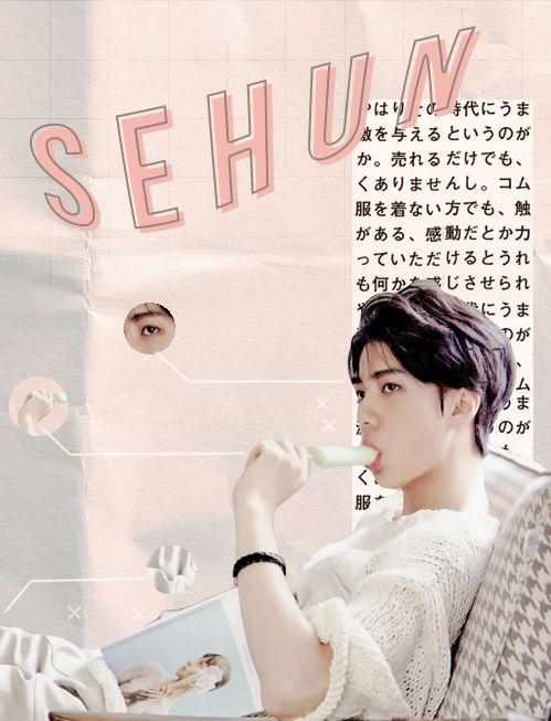 exo, sehun, and edit image