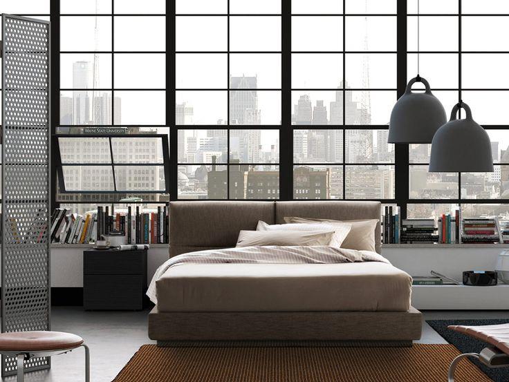 Miasto budzi się  #vintage #bed #italiantaste #interior #design #pianca