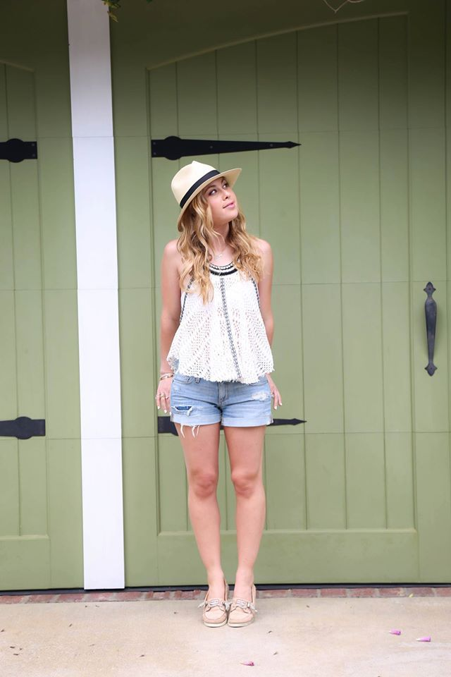 Tara Lipinski Summer Street Style