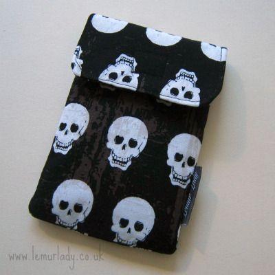 Skulls iPhone Case from Lemur Lady.