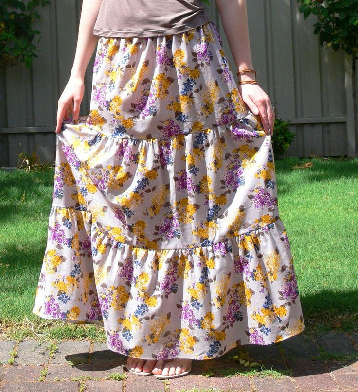 I Ve Made Half A Dozen Skirts Using This No Pattern