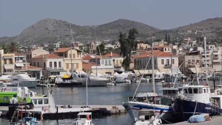Aegina from the port