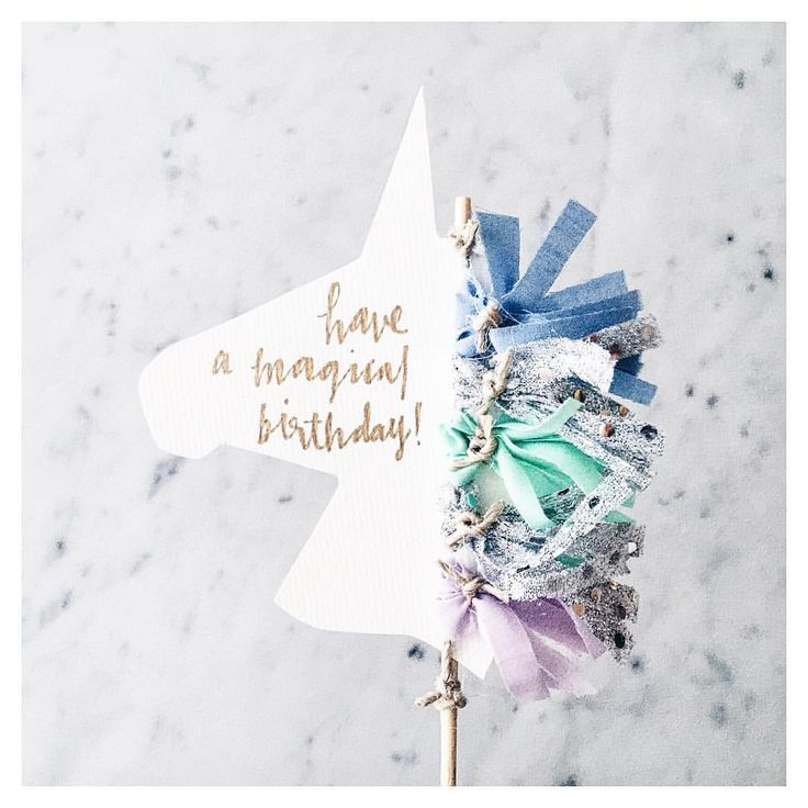 SUSAN || Instagram : ☄✨ || Unicorn cake toppers are now available on the website // customise the unicorn mane tassel colours and the text to whatever suits your magical unicorn-loving event x LittleConfettiLove Unicorn CakeTopper