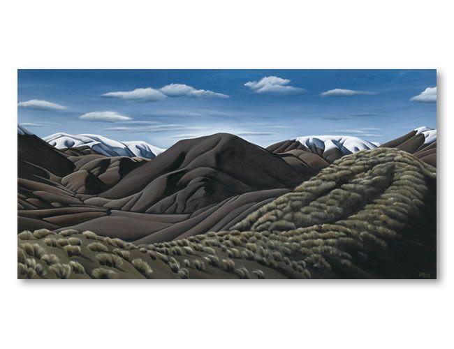 Tussocklands. Diana Adams, NZ Artist.