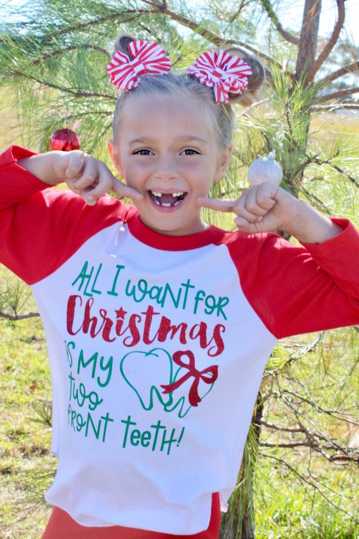 Kids Holiday Shirts - All I want for Christmas is my two Front Teeth - Funny Christmas Shirts - Unisex Kids Tees - Holiday Tees - Youth Kids by VazzieTees on Etsy https://www.etsy.com/listing/487231387/kids-holiday-shirts-all-i-want-for  DISCOUNT code ANNABELLE15 on all Vazzie Tees purchases