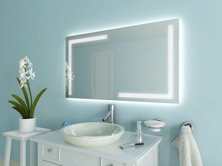 Unique Badspiegel mit LED Beleuchtung Korlin ML