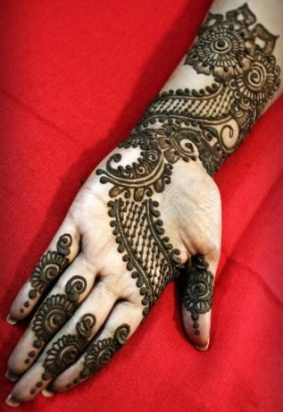 15 modern arabic mehndi designs for hands – 2013!