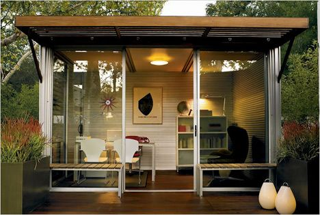 Digging this look: Spaces, Idea, Outdoor, Office Design, House, Backyard, Home Offices